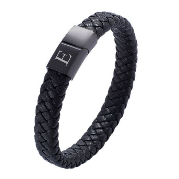 Mens Black Bracelet